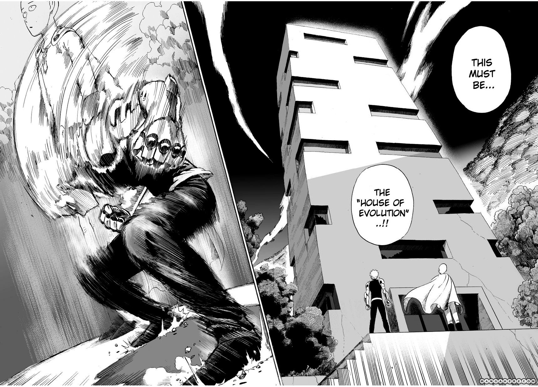One Punch Man Chapter 9 Read Online Image 15