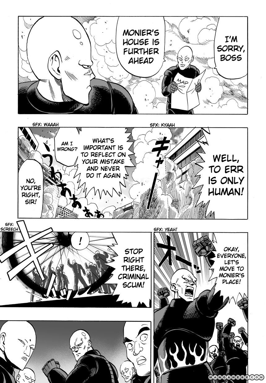 One Punch Man Chapter 12 Read Online Image 8