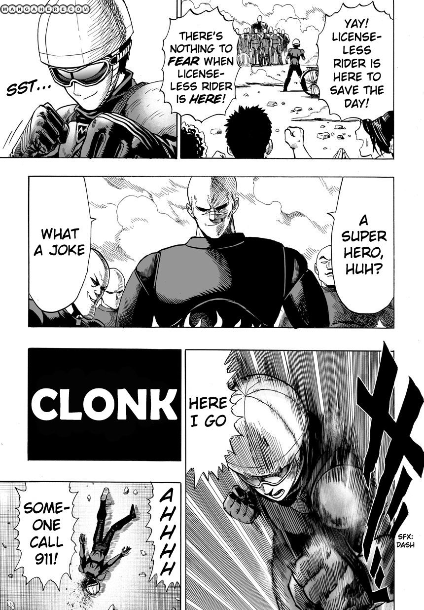 One Punch Man Chapter 12 Read Online Image 10