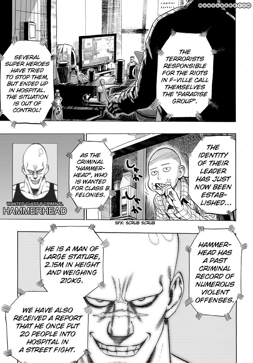 One Punch Man Chapter 12 Read Online Image 12