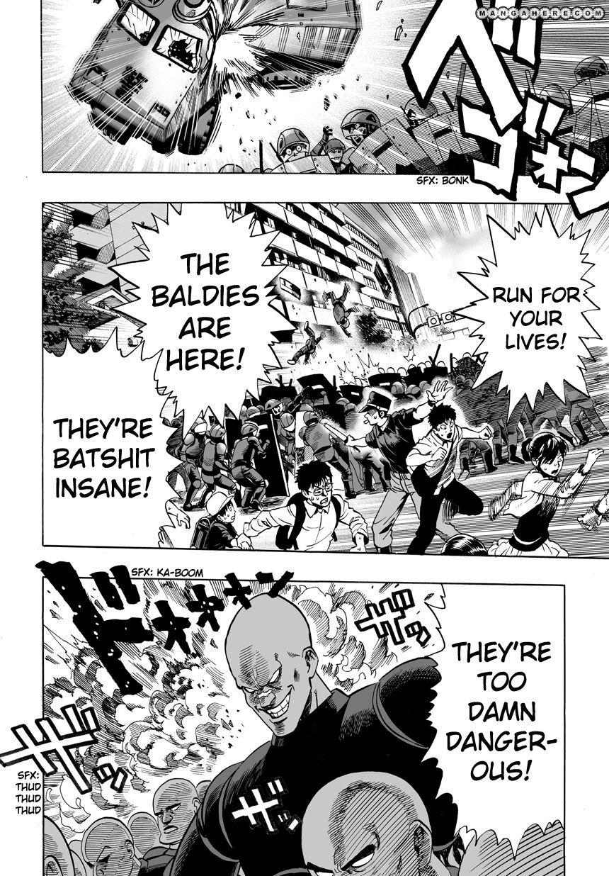 One Punch Man Chapter 12 Read Online Image 16