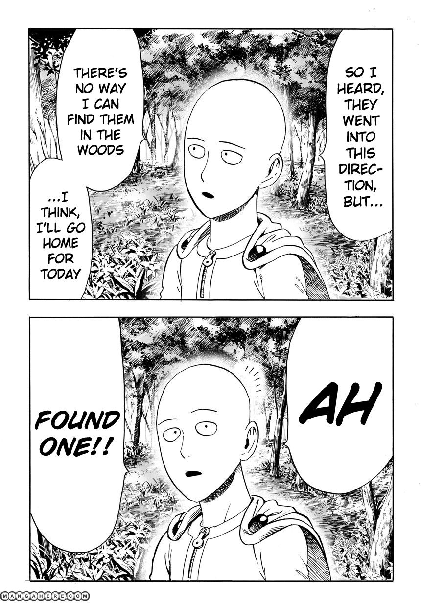 One Punch Man Chapter 14 Read Online Image 3