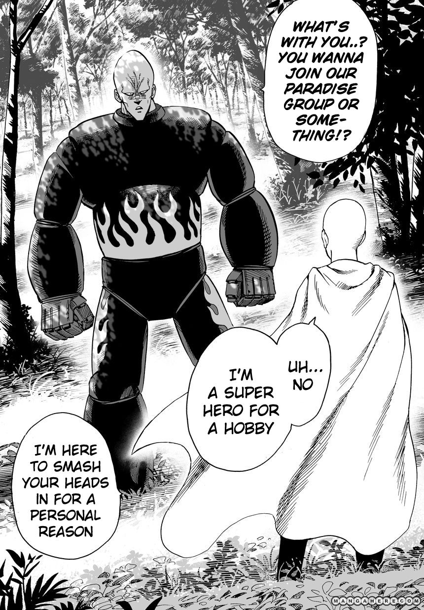 One Punch Man Chapter 14 Read Online Image 4