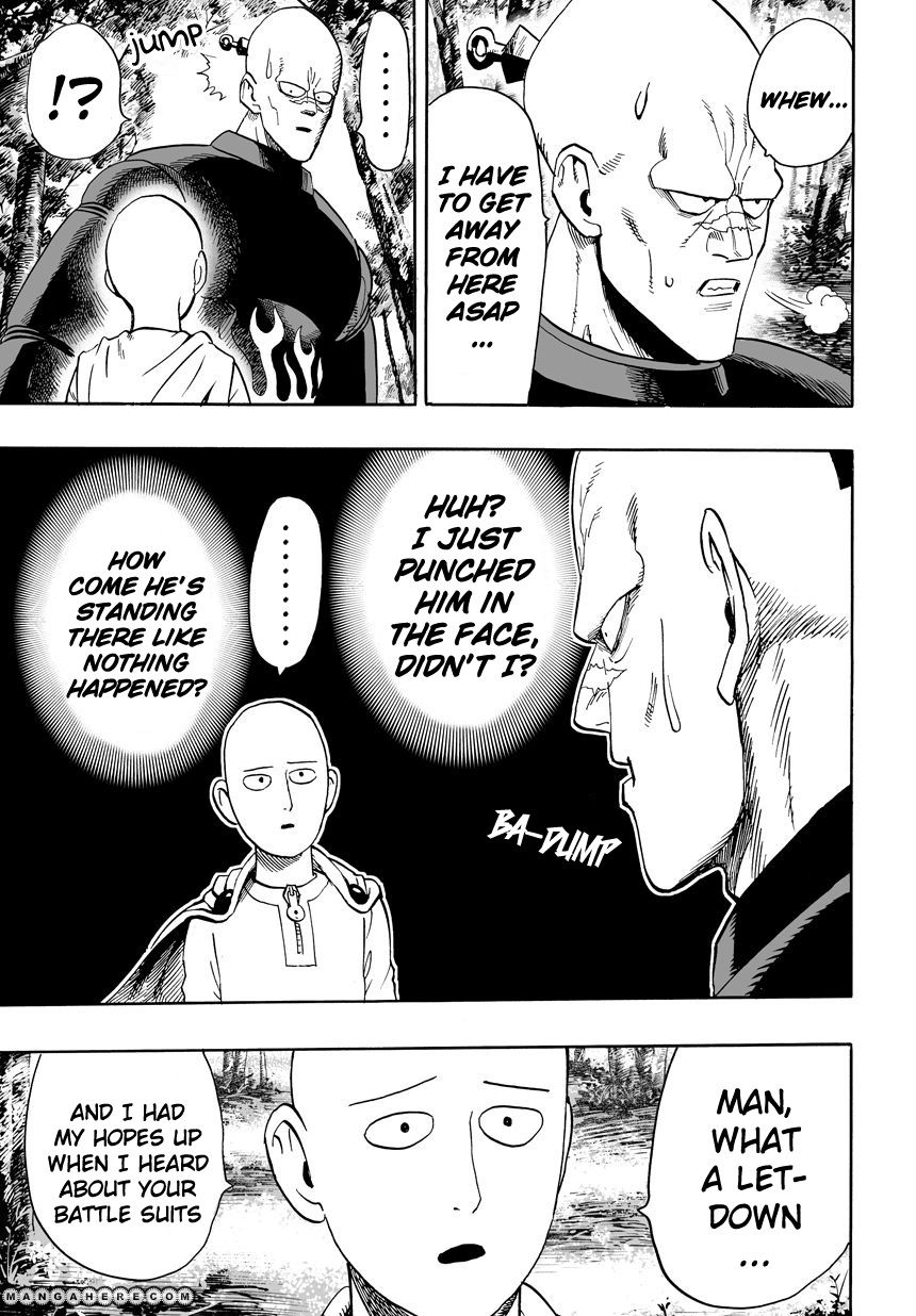One Punch Man Chapter 14 Read Online Image 6
