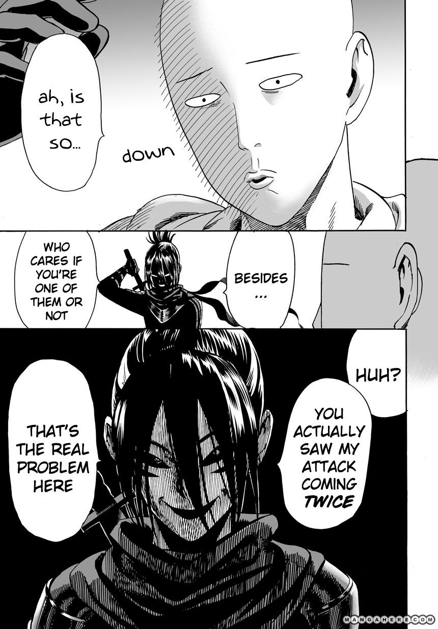 One Punch Man Chapter 14 Read Online Image 18
