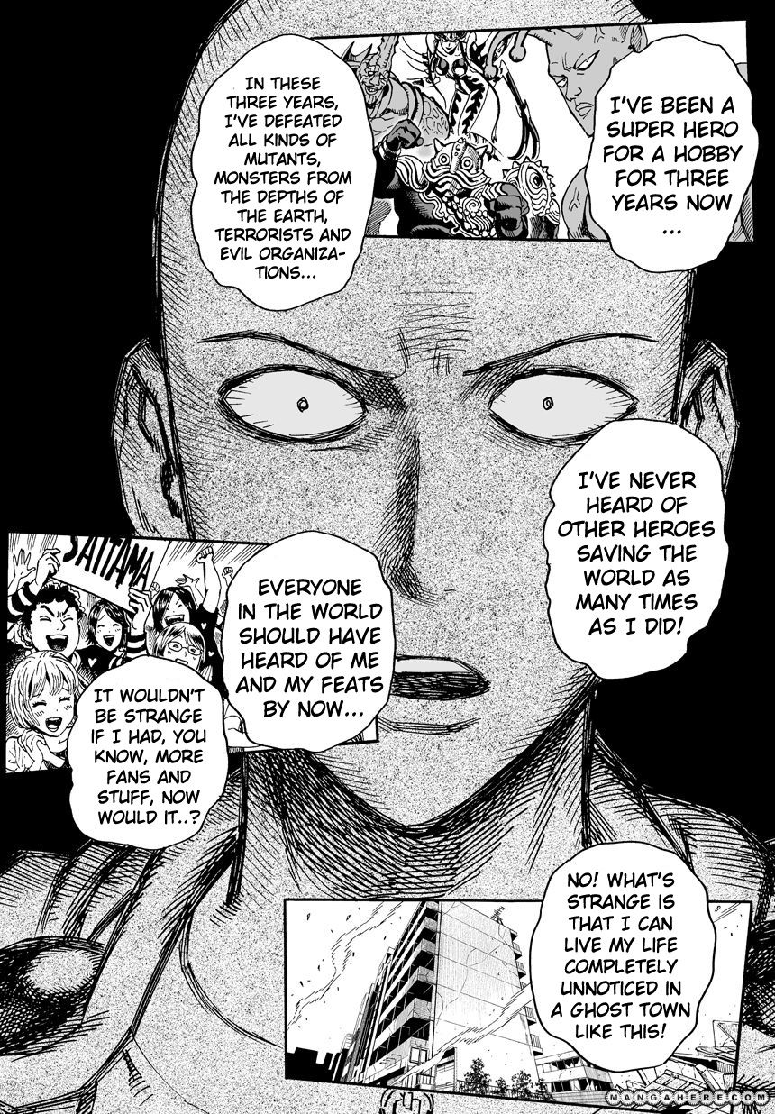 One Punch Man Chapter 26 Image 21