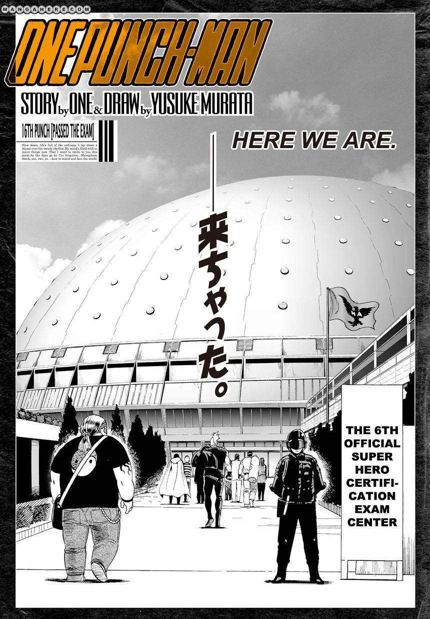 One Punch Man Chapter 16 Read Online Image 2