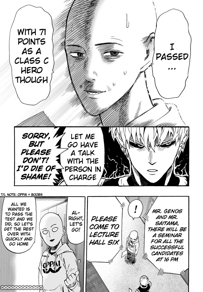 One Punch Man Chapter 16 Read Online Image 10