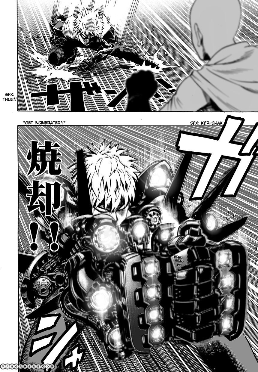 One Punch Man Chapter 17.2 Read Online Read Online Image 3