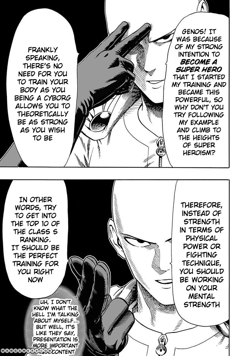 One Punch Man Chapter 18 Read Online Image 13