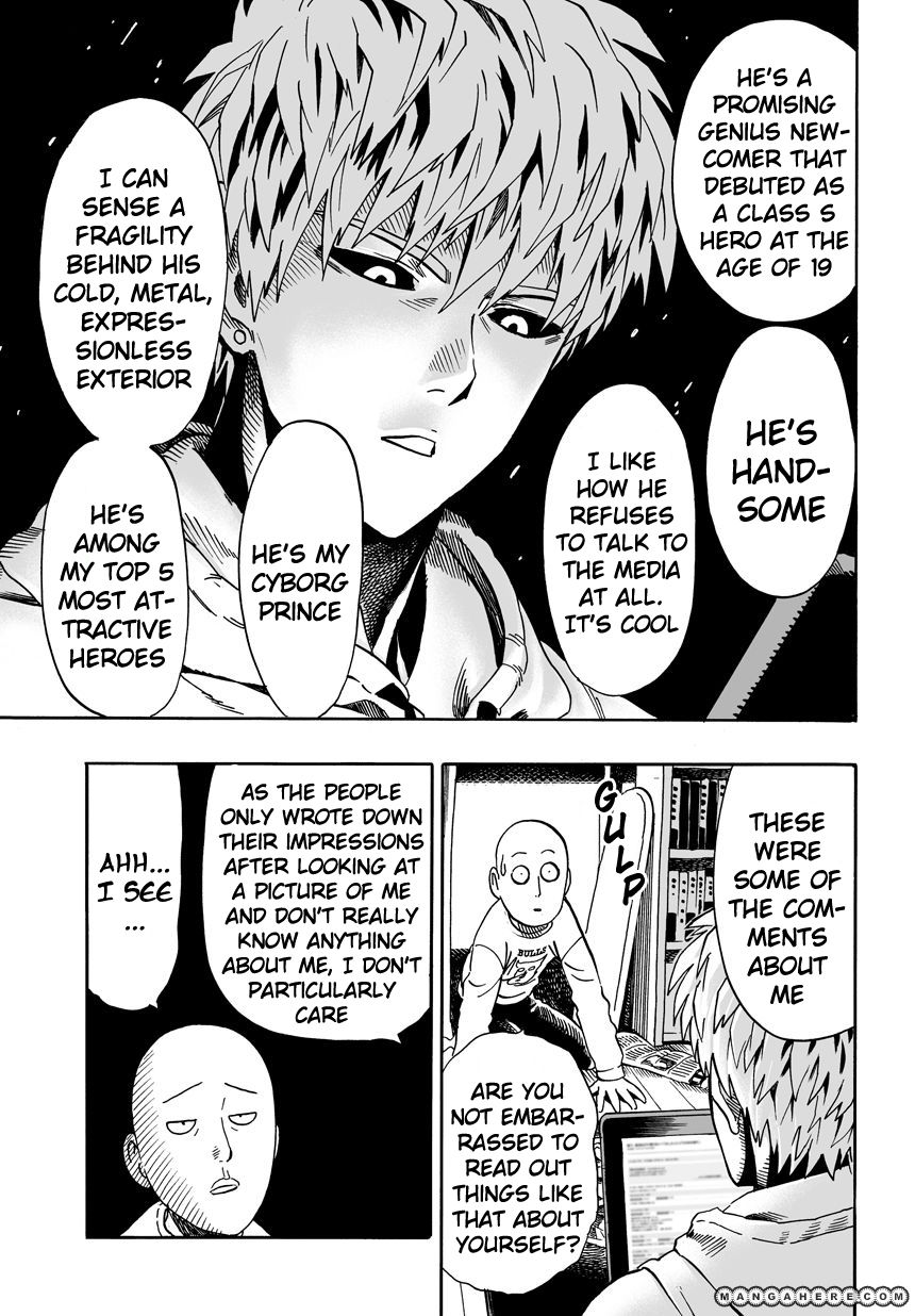 One Punch Man Chapter 21 Read Online Image 4