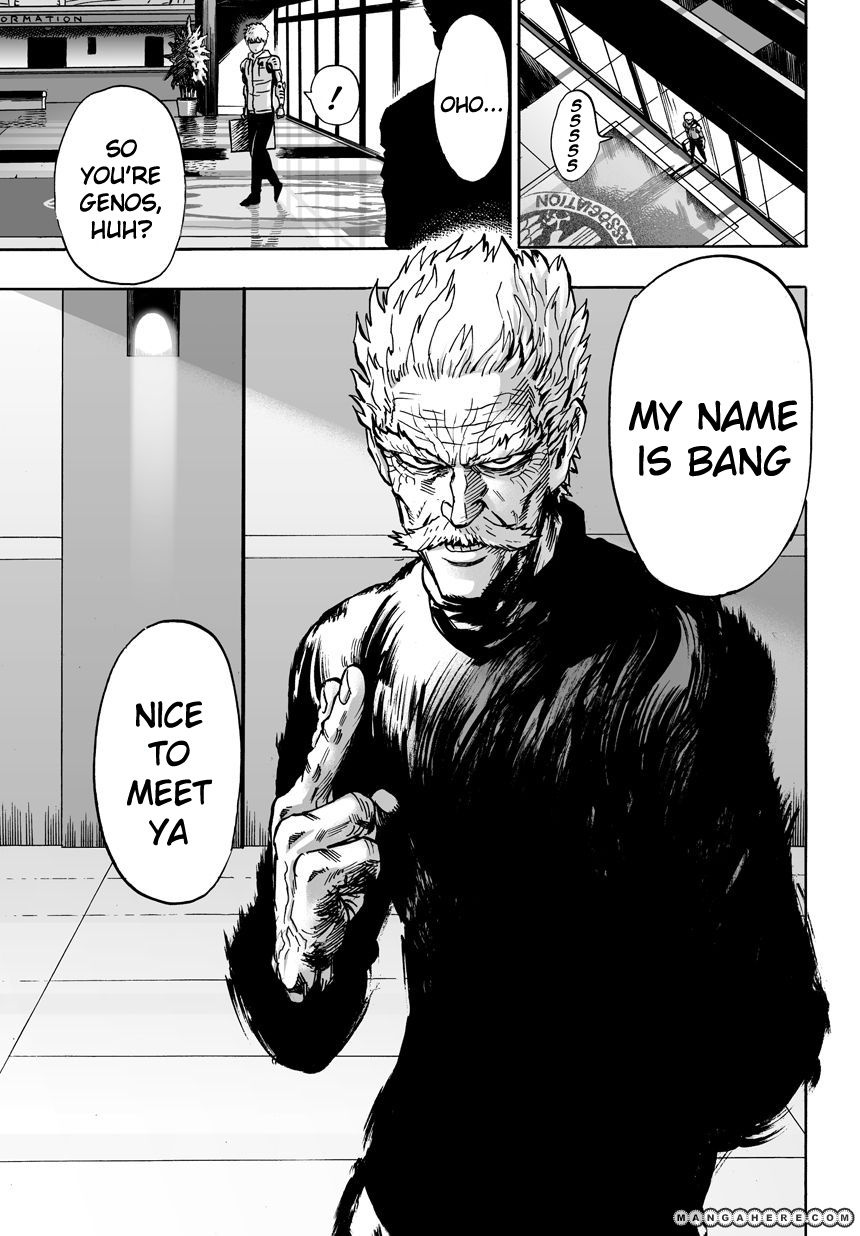 One Punch Man Chapter 21 Read Online Image 23