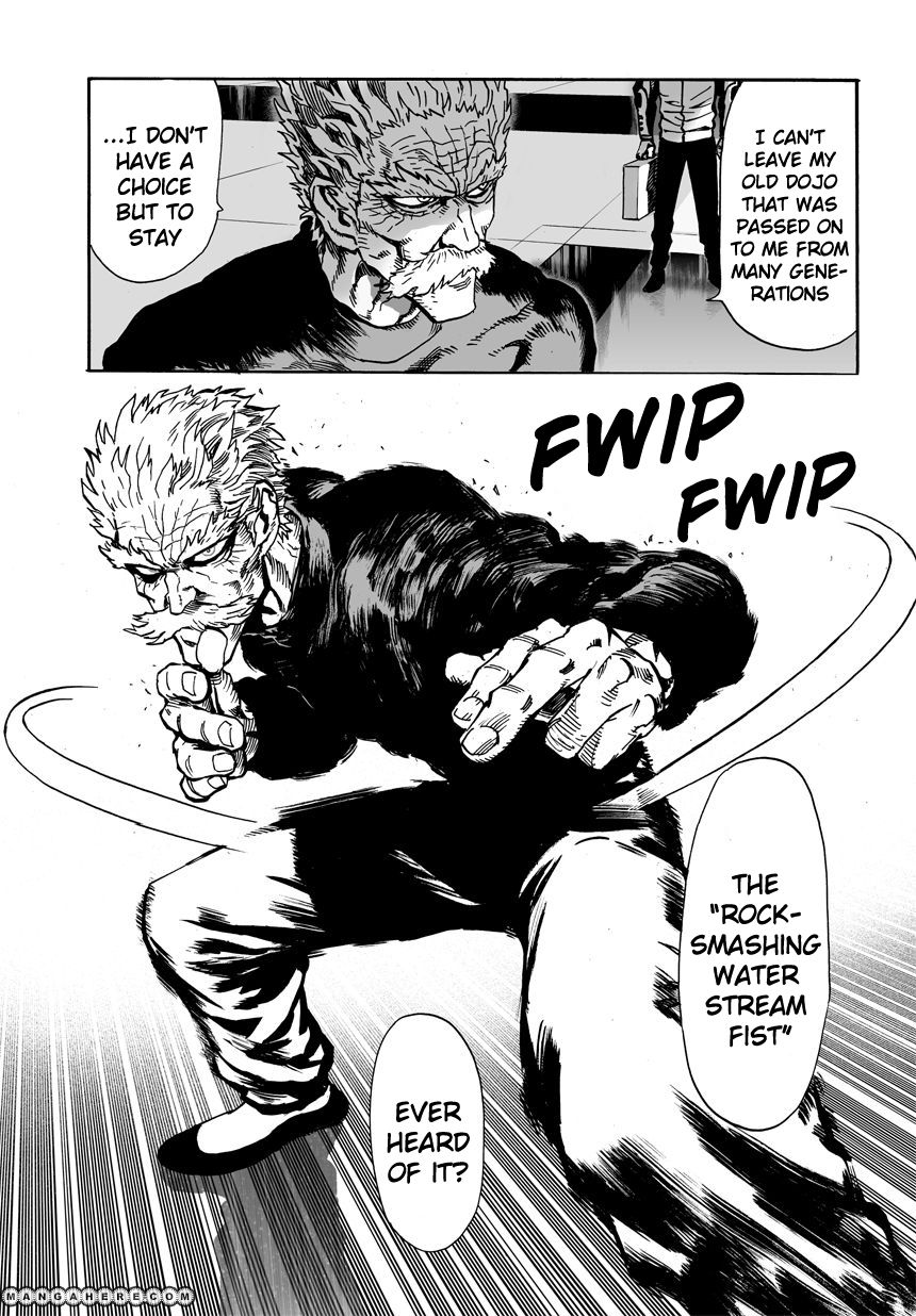 One Punch Man Chapter 21 Read Online Image 30