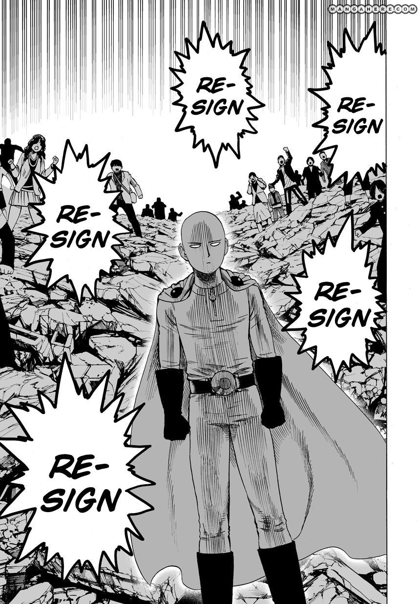 One Punch Man Chapter 22 Read Online Image 23