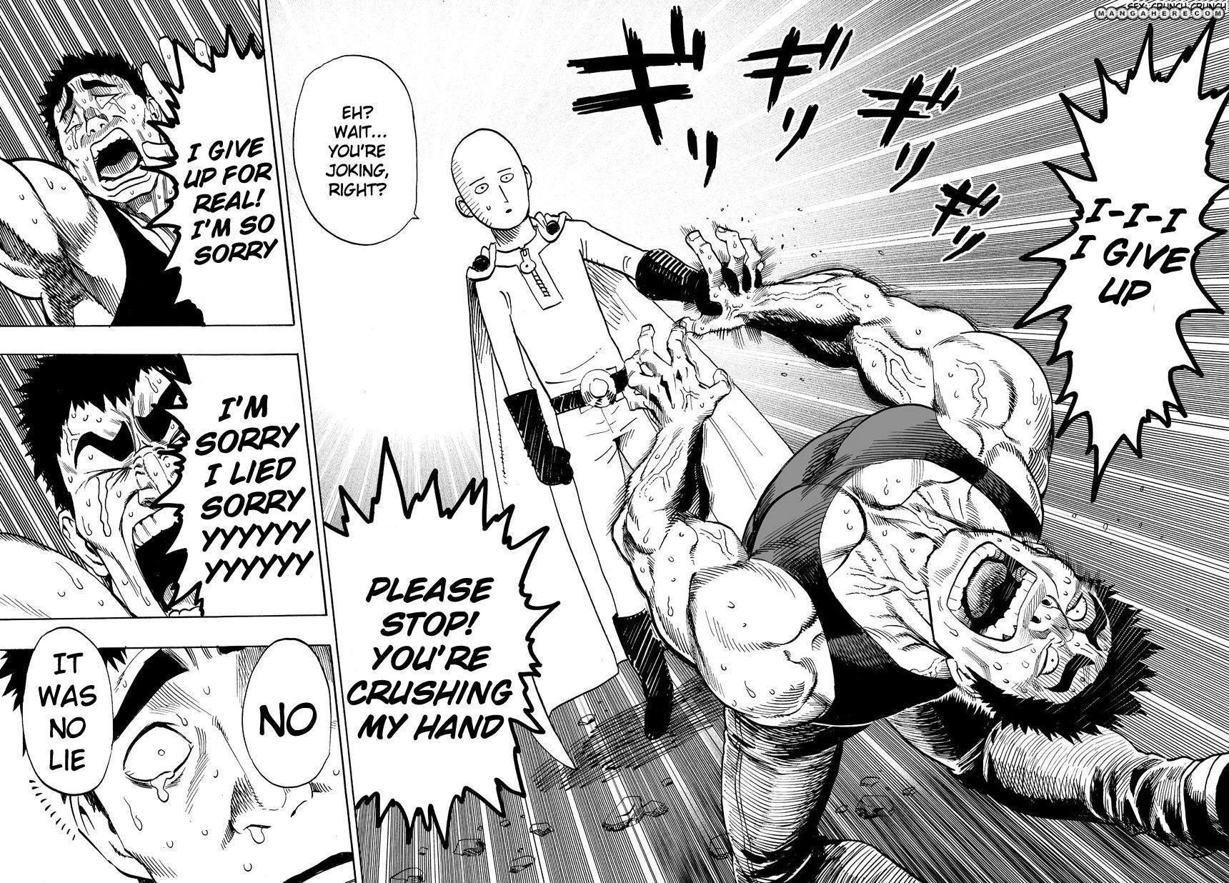 One Punch Man Chapter 22 Read Online Image 34