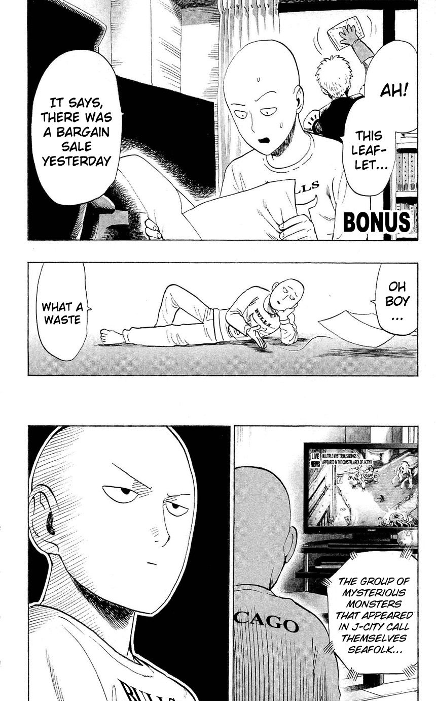 One Punch Man Chapter 22.5 Read Online Image 28