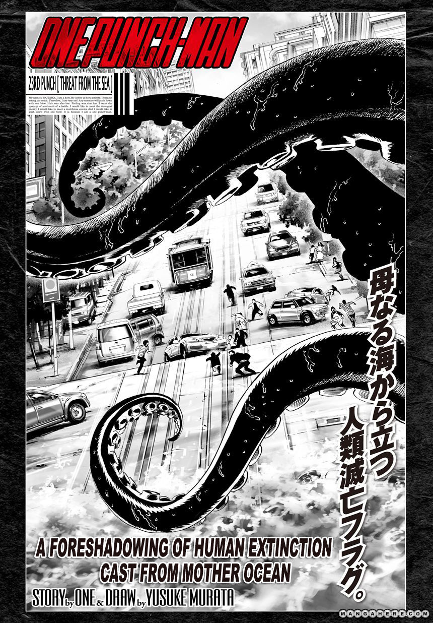 One Punch Man Chapter 23 Read Online Image 2