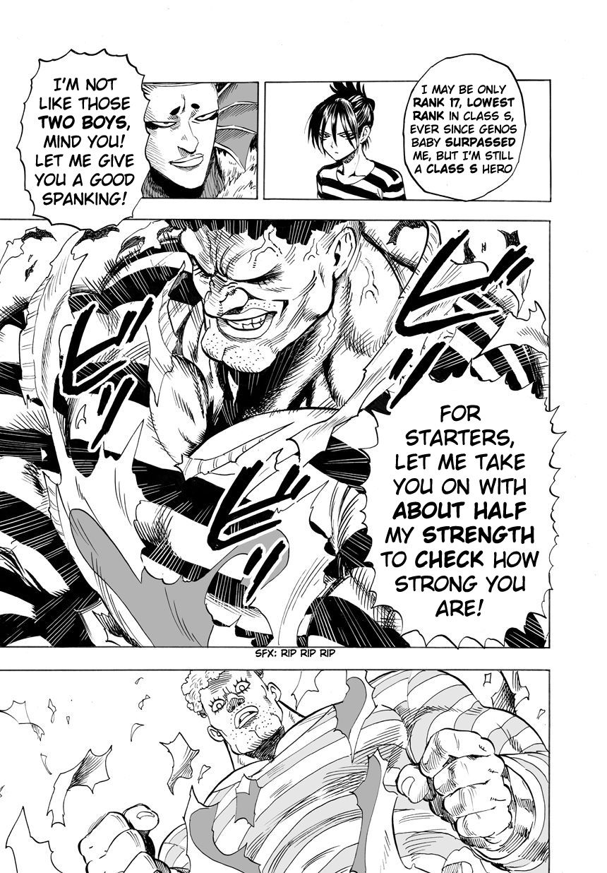One Punch Man Chapter 24 Read Online Image 24