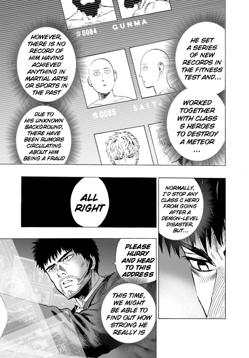 One Punch Man Chapter 25 Read Online Image 6