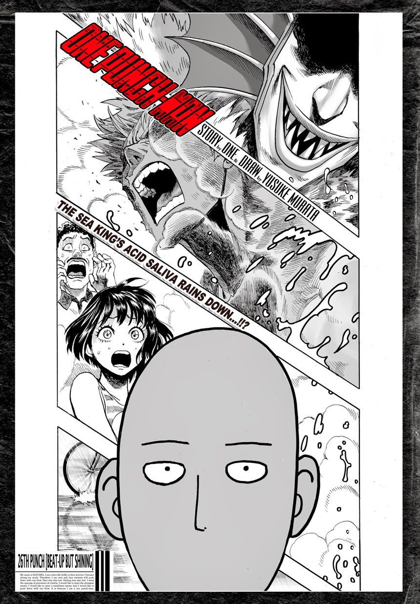 One Punch Man Chapter 26 Read Online Image 2
