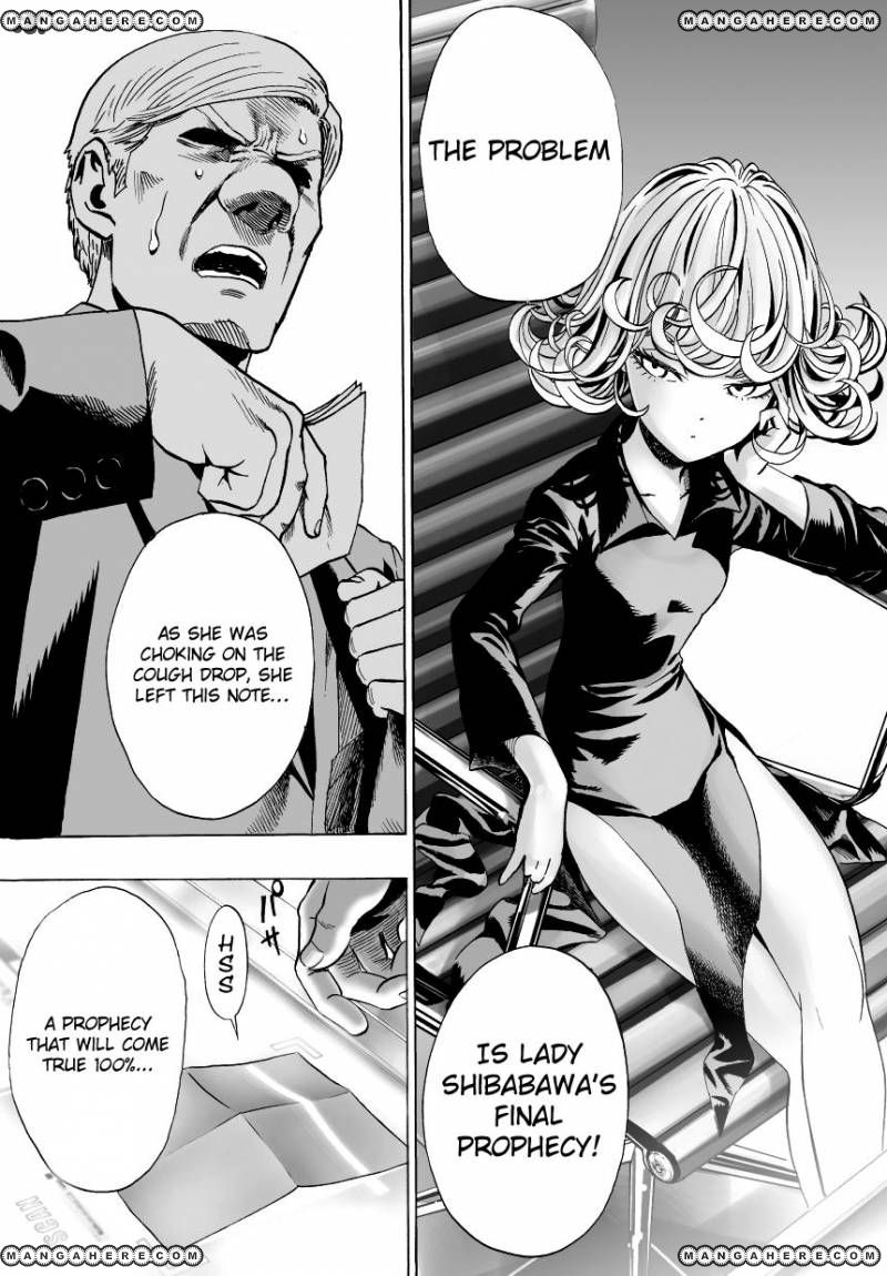One Punch Man Chapter 30 Read Online Image 11