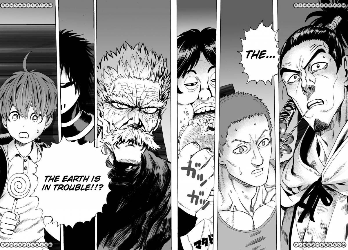One Punch Man Chapter 30 Read Online Image 13
