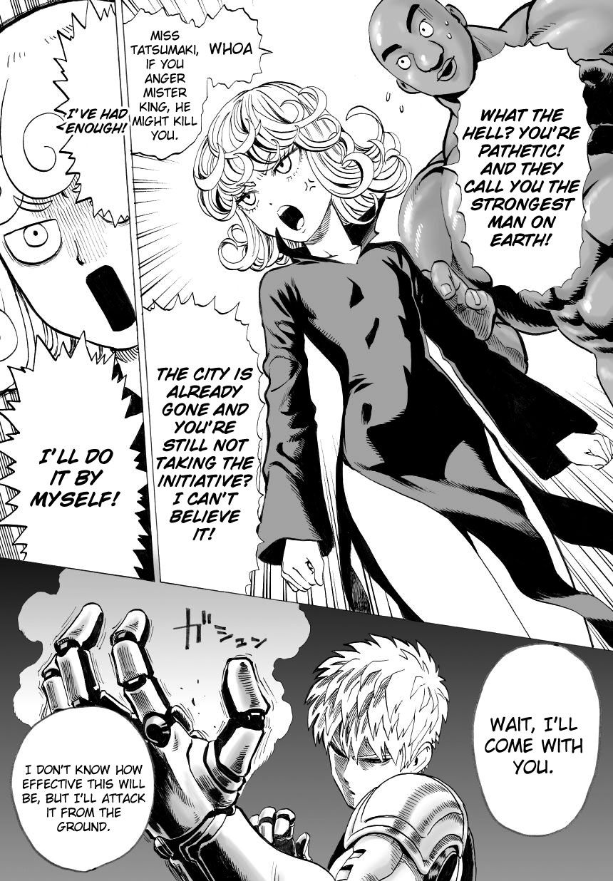One Punch Man Chapter 32 Read Online Image 15
