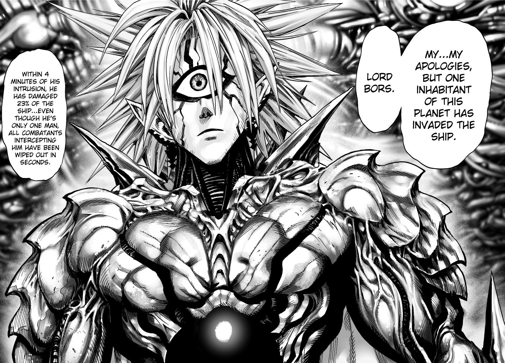 One Punch Man Chapter 32 Read Online Image 22