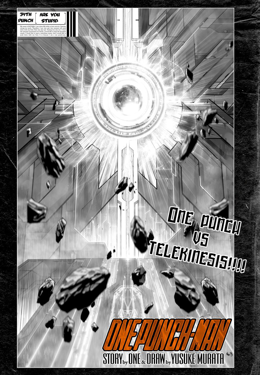 One Punch Man Chapter 34 Read Online Image 2