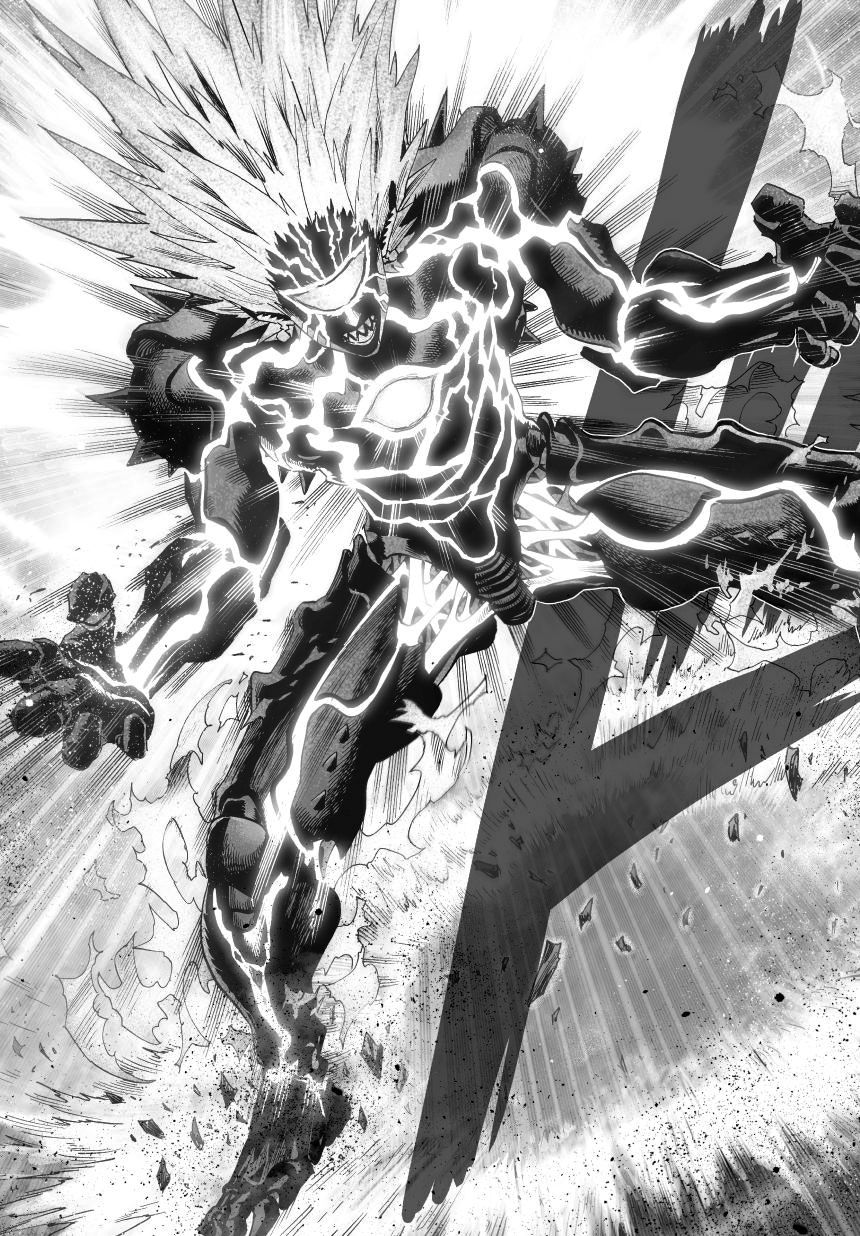 One Punch Man Chapter 34 Read Online Image 15