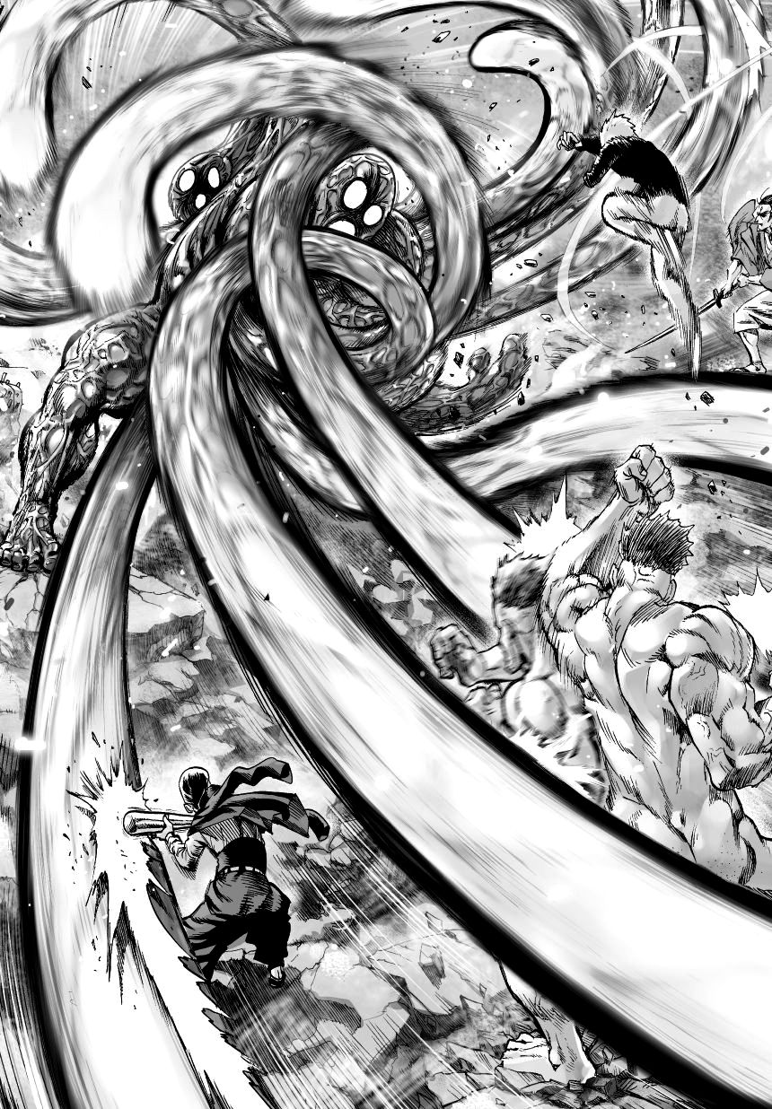 One Punch Man Chapter 34.5 Read Online Image 5