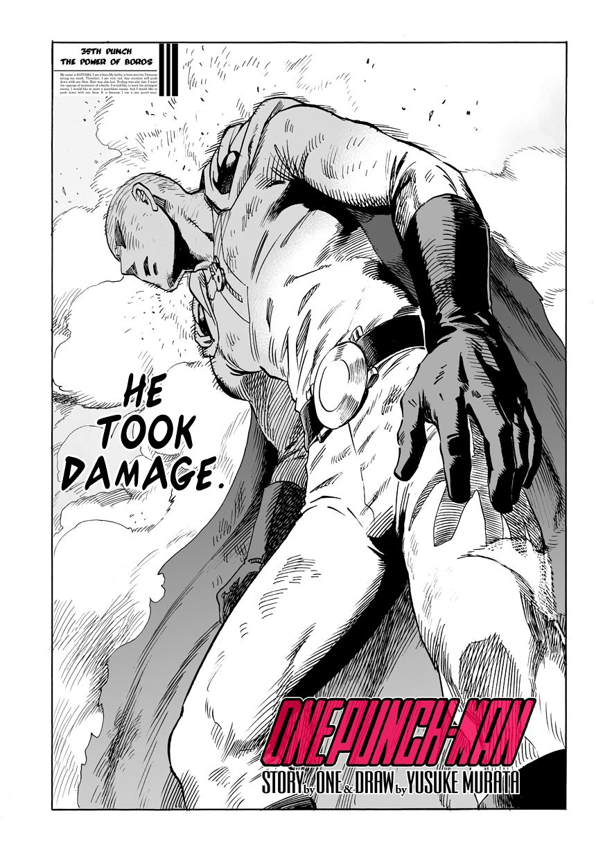 One Punch Man Chapter 35 Read Online Image 2