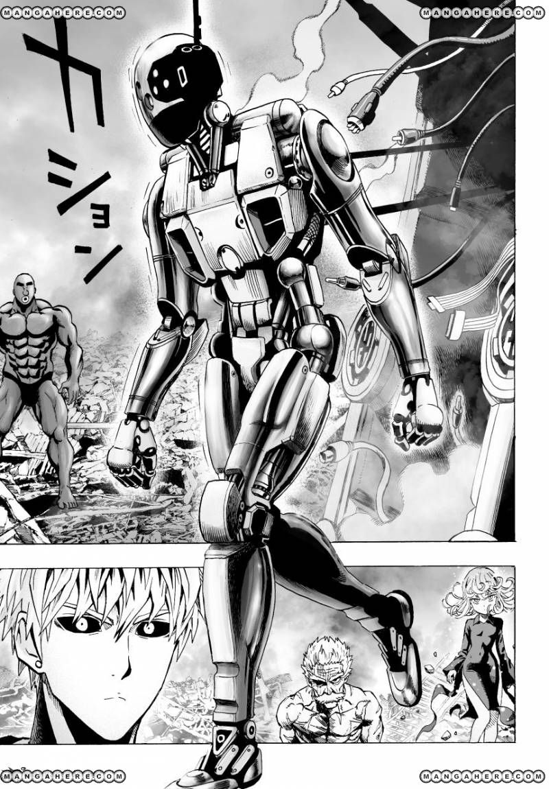 One Punch Man Chapter 36 Read Online Image 12