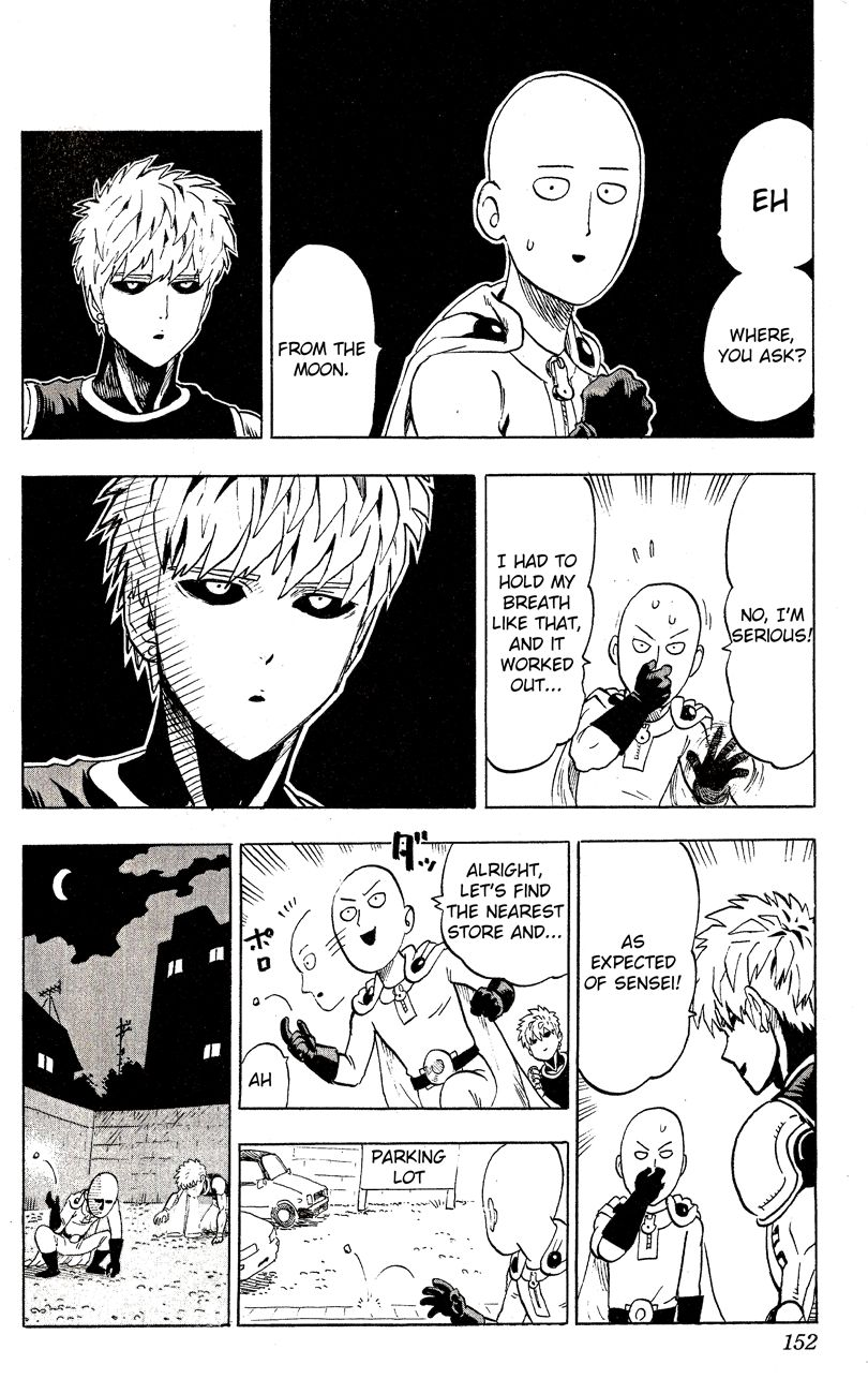 One Punch Man Chapter 36.5 Read Online Image 6