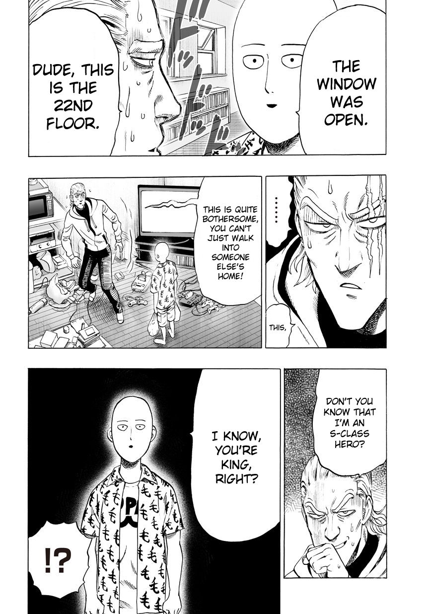 One Punch Man Chapter 37.4 Read Online Image 4