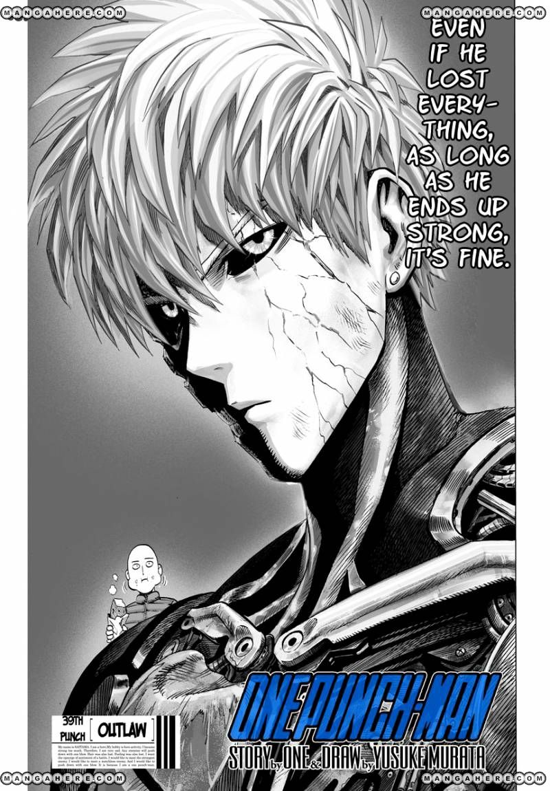 One Punch Man Chapter 39.1 Read Online Image 1