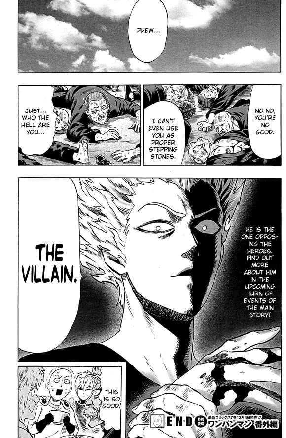One Punch Man Chapter 39.5 Read Online Image 21