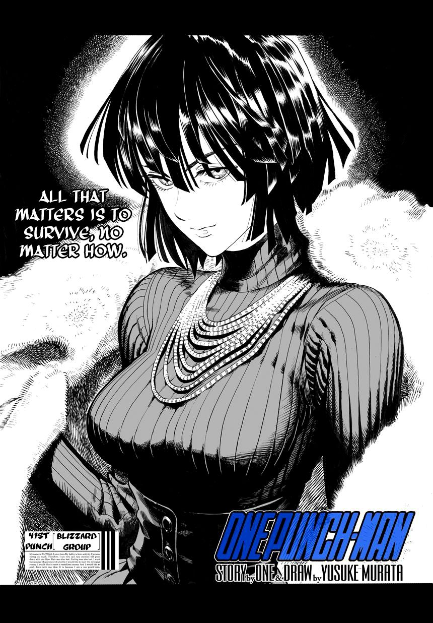 One Punch Man Chapter 41 Read Online Image 1