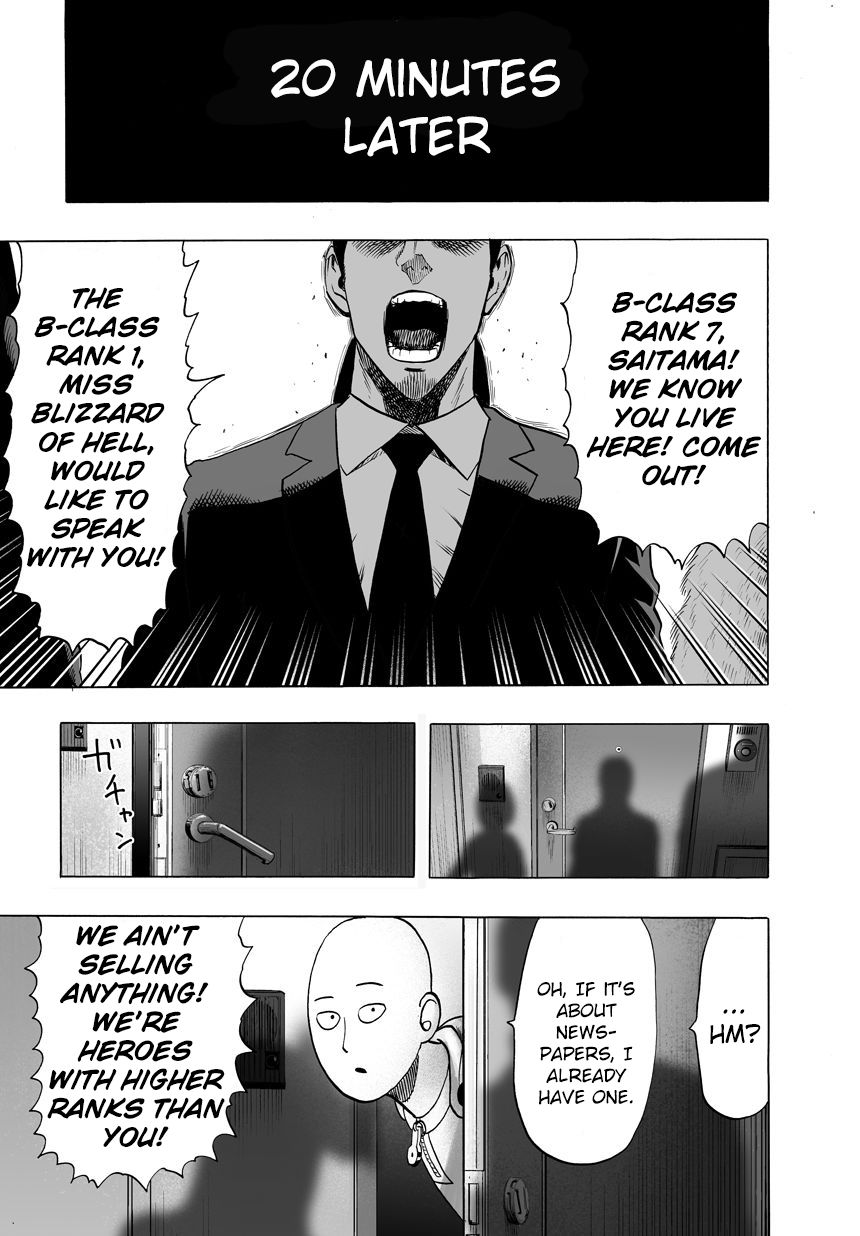 One Punch Man Chapter 41 Read Online Image 9