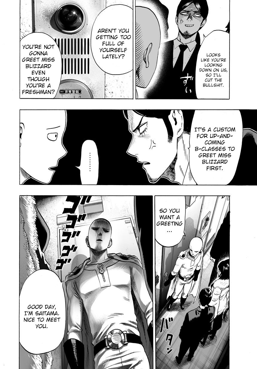 One Punch Man Chapter 41 Read Online Image 12