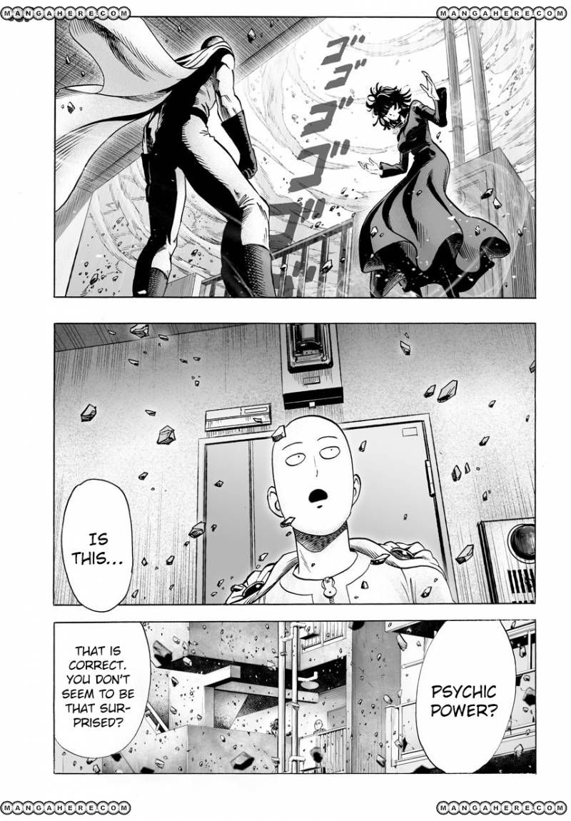 One Punch Man Chapter 42 Read Online Image 4