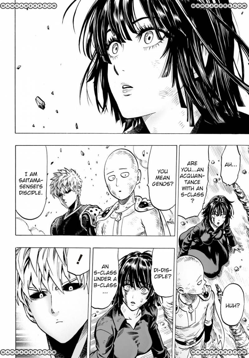 One Punch Man Chapter 42 Read Online Image 22