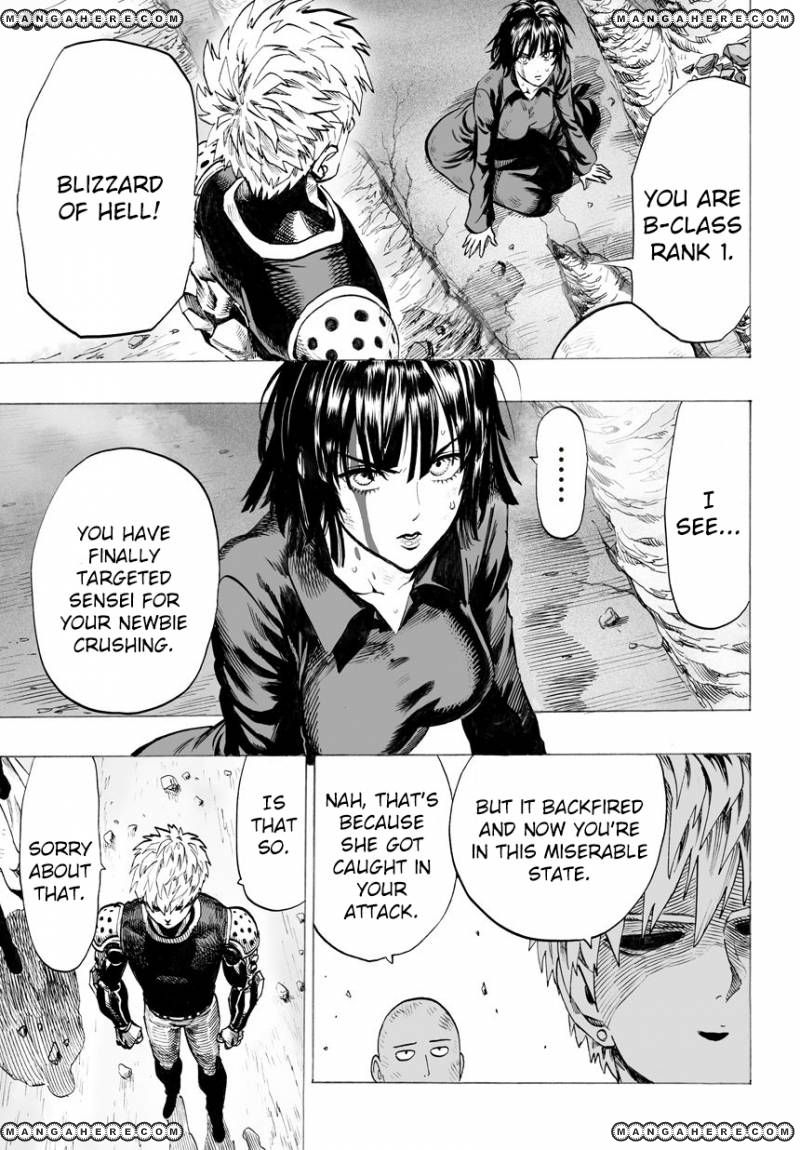 One Punch Man Chapter 42 Read Online Image 23