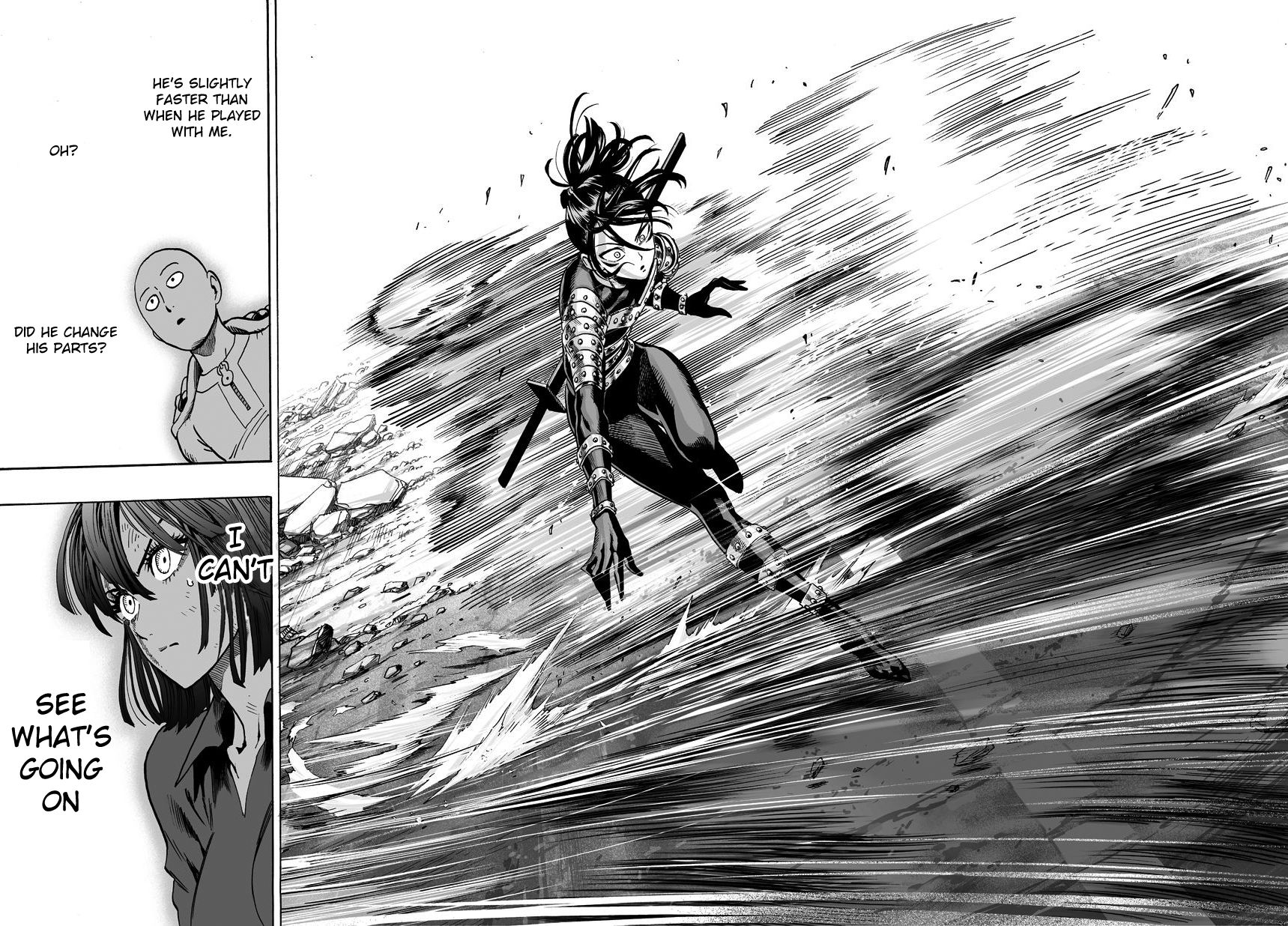 One Punch Man Chapter 43 Read Online Image 9