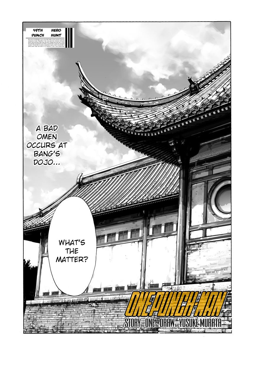 One Punch Man Chapter 45 Read Online Image 1
