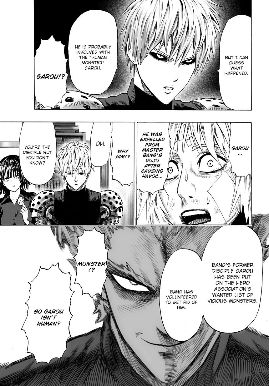 One Punch Man Chapter 45 Read Online Image 5