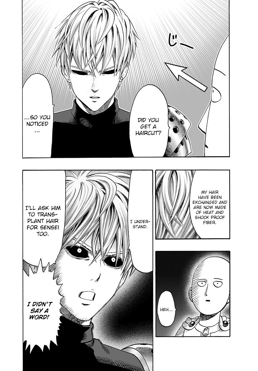 One Punch Man Chapter 45 Read Online Image 24