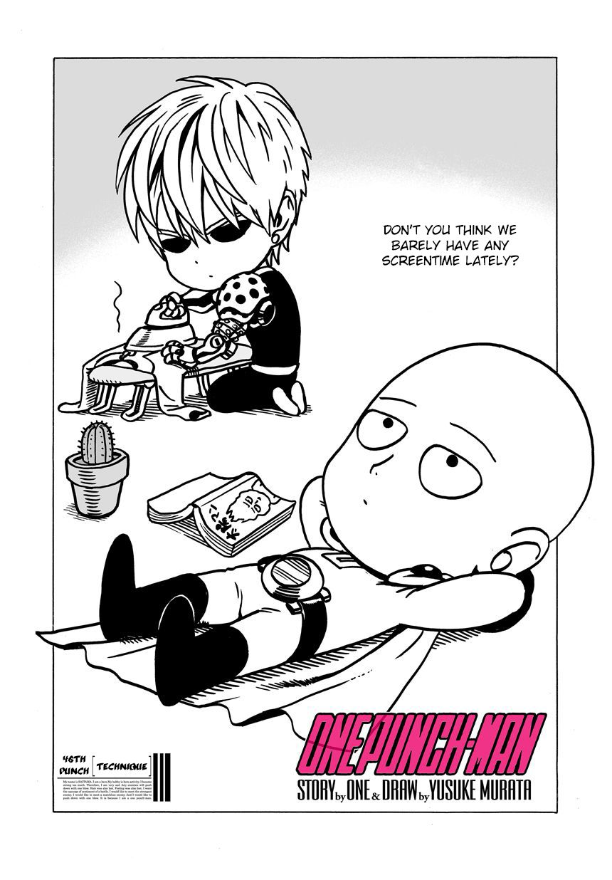 One Punch Man Chapter 46 Read Online Image 1