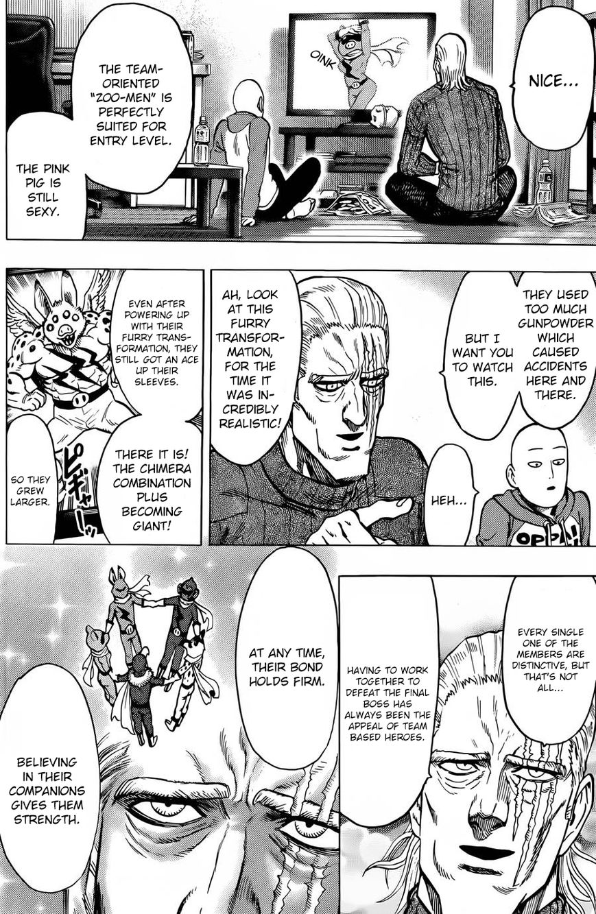 One Punch Man Chapter 58.5 Read Online Image 4