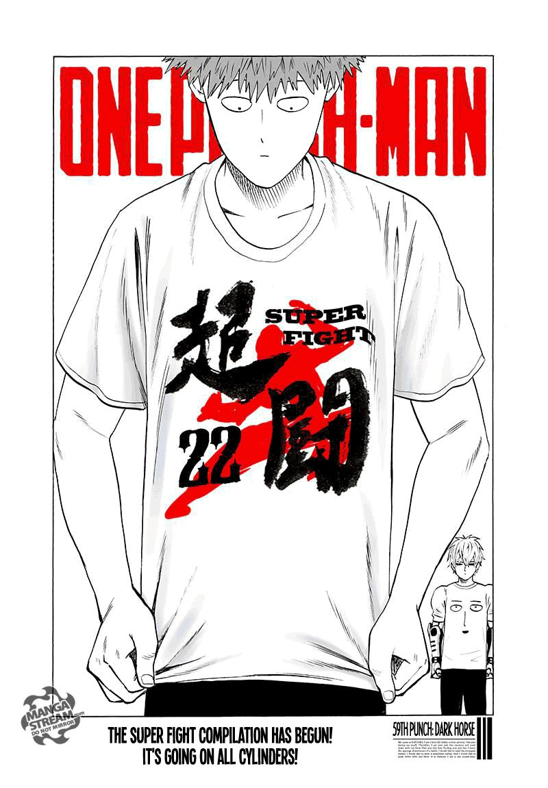 One Punch Man Chapter 59 Read Online Image 1